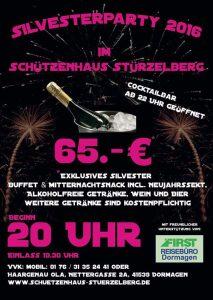 Silvesterparty Dormagen Stürzelberg